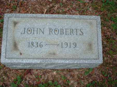 ROBERTS, JOHN - Meigs County, Ohio | JOHN ROBERTS - Ohio Gravestone Photos