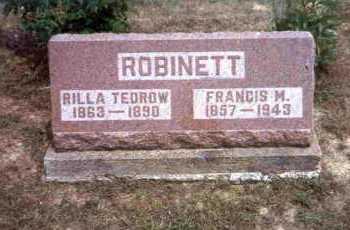 ROBINETT, FRANCIS M. - Meigs County, Ohio   FRANCIS M. ROBINETT - Ohio Gravestone Photos