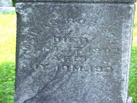 ROBISON, SILAS - Meigs County, Ohio   SILAS ROBISON - Ohio Gravestone Photos