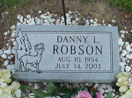 ROBSON, DANNY L. - Meigs County, Ohio | DANNY L. ROBSON - Ohio Gravestone Photos