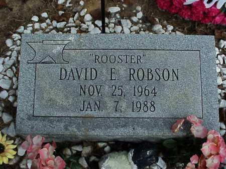 ROBSON, DAVID E. - Meigs County, Ohio | DAVID E. ROBSON - Ohio Gravestone Photos