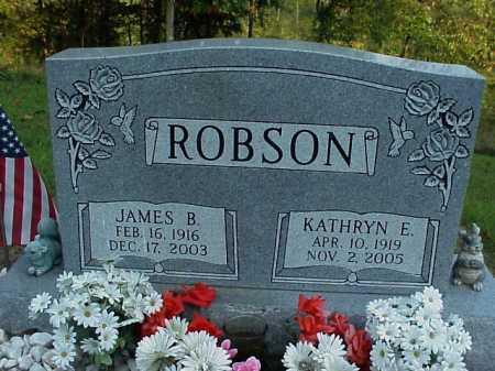 ROBSON, KATHRYN E. - Meigs County, Ohio | KATHRYN E. ROBSON - Ohio Gravestone Photos