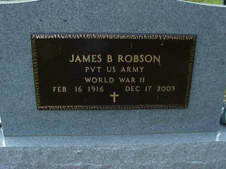 ROBSON, JAMES B. - Meigs County, Ohio | JAMES B. ROBSON - Ohio Gravestone Photos