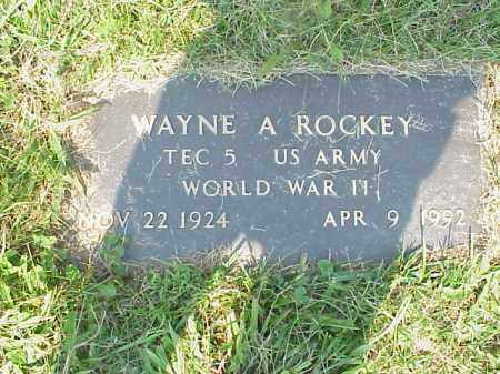 ROCKEY, WAYNE A. - Meigs County, Ohio | WAYNE A. ROCKEY - Ohio Gravestone Photos