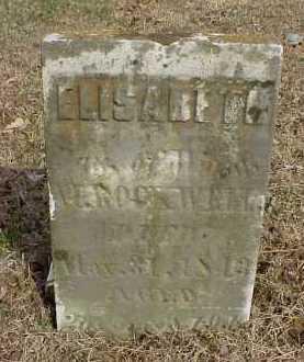 ROCKWELL, ELISABETH - Meigs County, Ohio | ELISABETH ROCKWELL - Ohio Gravestone Photos