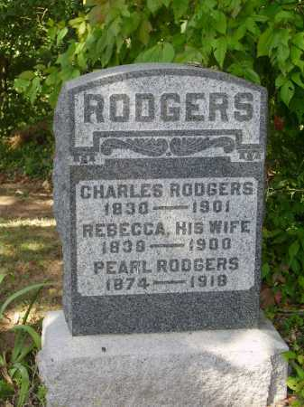 RODGERS, CHARLES - Meigs County, Ohio | CHARLES RODGERS - Ohio Gravestone Photos