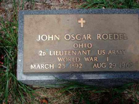 ROEDEL, JOHN OSCAR - Meigs County, Ohio | JOHN OSCAR ROEDEL - Ohio Gravestone Photos