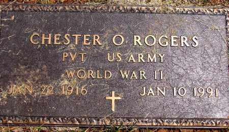 ROGERS, CHESTER O - Meigs County, Ohio | CHESTER O ROGERS - Ohio Gravestone Photos