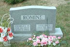 BICKAR ROMINE, OTILLIA L. - Meigs County, Ohio | OTILLIA L. BICKAR ROMINE - Ohio Gravestone Photos