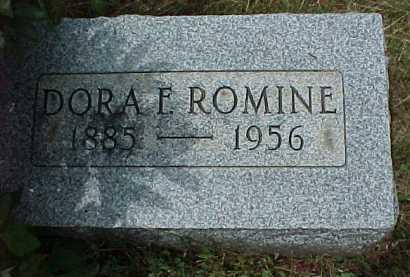 ROMINE, DORA F. - Meigs County, Ohio | DORA F. ROMINE - Ohio Gravestone Photos