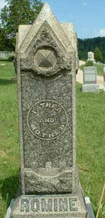 ROMINE, GEORGE - Meigs County, Ohio | GEORGE ROMINE - Ohio Gravestone Photos