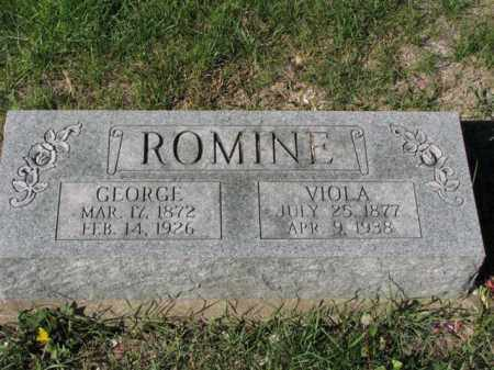 ROMINE, VIOLA - Meigs County, Ohio   VIOLA ROMINE - Ohio Gravestone Photos