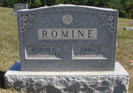 ROMINE, JOSEPH EMORY - Meigs County, Ohio | JOSEPH EMORY ROMINE - Ohio Gravestone Photos