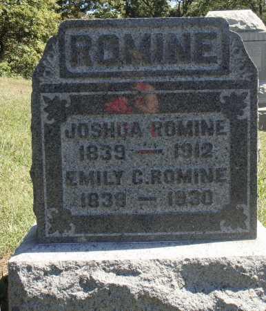 ROMINE, EMILY - Meigs County, Ohio | EMILY ROMINE - Ohio Gravestone Photos