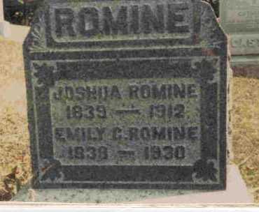 CASTOR ROMINE, EMILY - Meigs County, Ohio | EMILY CASTOR ROMINE - Ohio Gravestone Photos