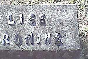 ROMINE, LISE - Meigs County, Ohio | LISE ROMINE - Ohio Gravestone Photos