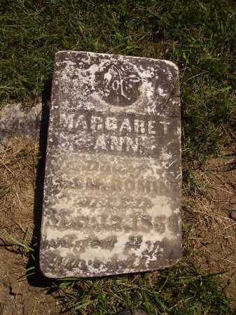 ROMINE, MARGARET ANN - Meigs County, Ohio   MARGARET ANN ROMINE - Ohio Gravestone Photos