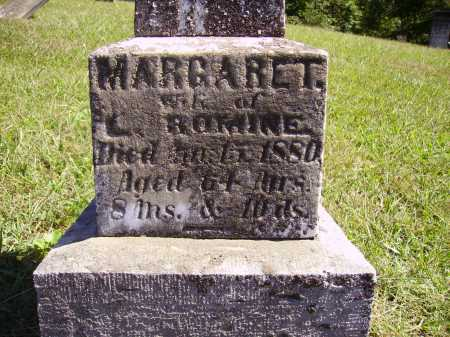 ROMINE, MARGARET - CLOSE VIEW - Meigs County, Ohio | MARGARET - CLOSE VIEW ROMINE - Ohio Gravestone Photos