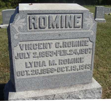 ROMINE, LYDIA M. - Meigs County, Ohio | LYDIA M. ROMINE - Ohio Gravestone Photos