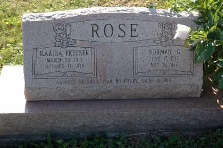 ROSE, MARTHA - Meigs County, Ohio | MARTHA ROSE - Ohio Gravestone Photos