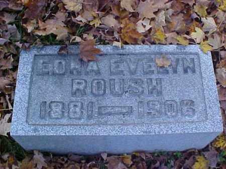 ROUSH, EDNA EVELYN - Meigs County, Ohio | EDNA EVELYN ROUSH - Ohio Gravestone Photos