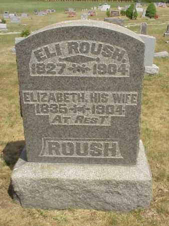ROUSH, ELI - Meigs County, Ohio | ELI ROUSH - Ohio Gravestone Photos