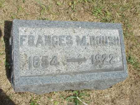 ROUSH, FRANCES M. - Meigs County, Ohio | FRANCES M. ROUSH - Ohio Gravestone Photos
