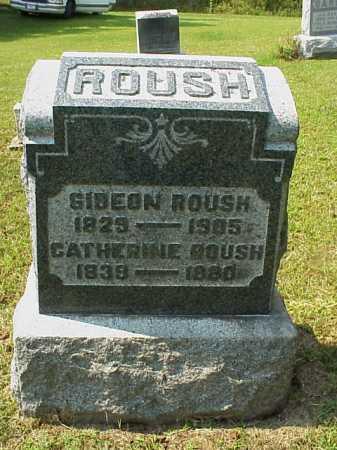 ROUSH, GIDEON - Meigs County, Ohio | GIDEON ROUSH - Ohio Gravestone Photos