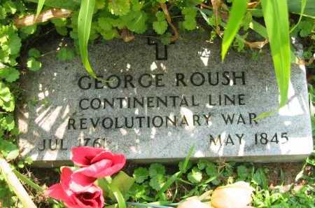 ROUSH, GEORGE - Meigs County, Ohio | GEORGE ROUSH - Ohio Gravestone Photos