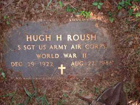 ROUSH, HUGH H. - Meigs County, Ohio   HUGH H. ROUSH - Ohio Gravestone Photos