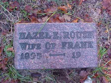 ROUSH, HAZEL E. - Meigs County, Ohio | HAZEL E. ROUSH - Ohio Gravestone Photos