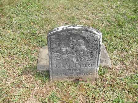 ROUSH, EMMA - Meigs County, Ohio | EMMA ROUSH - Ohio Gravestone Photos