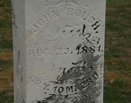 ROUSH, JOHN - Meigs County, Ohio   JOHN ROUSH - Ohio Gravestone Photos