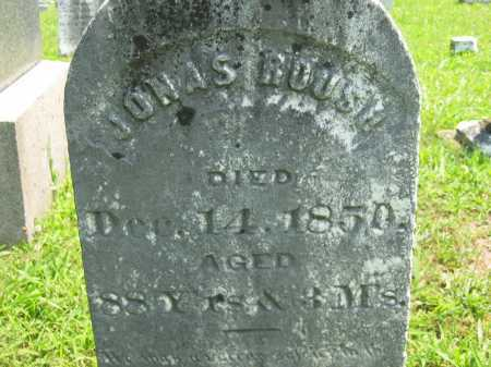 ROUSH, JONAS - Meigs County, Ohio | JONAS ROUSH - Ohio Gravestone Photos