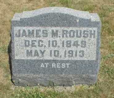 ROUSH, JAMES M. - Meigs County, Ohio | JAMES M. ROUSH - Ohio Gravestone Photos