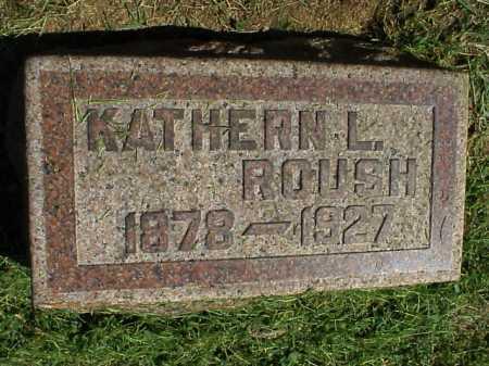 ROUSH, KATHERN L. - Meigs County, Ohio | KATHERN L. ROUSH - Ohio Gravestone Photos