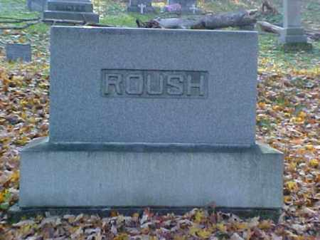ROUSH, MONUMENT - Meigs County, Ohio | MONUMENT ROUSH - Ohio Gravestone Photos