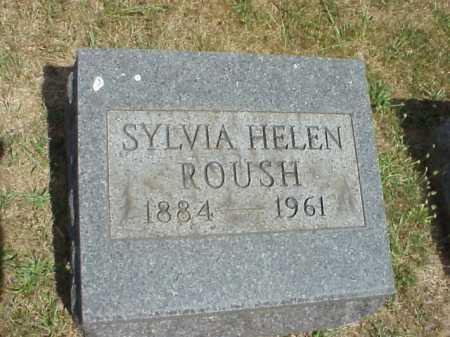 ROUSH, SYLVIA HELEN - Meigs County, Ohio | SYLVIA HELEN ROUSH - Ohio Gravestone Photos