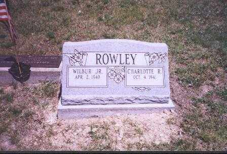 ROWLEY, WILBUR, JR. - Meigs County, Ohio | WILBUR, JR. ROWLEY - Ohio Gravestone Photos
