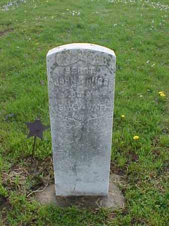 RUGG, JOHN P. - Meigs County, Ohio   JOHN P. RUGG - Ohio Gravestone Photos
