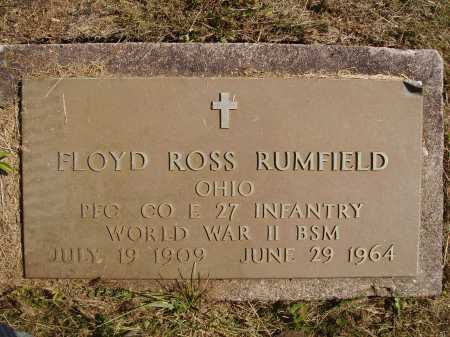 RUMFIELD, FLOYD ROSS - MILITARY - Meigs County, Ohio | FLOYD ROSS - MILITARY RUMFIELD - Ohio Gravestone Photos