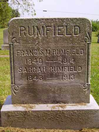 GRATE RUMFIELD, SARRAH - Meigs County, Ohio | SARRAH GRATE RUMFIELD - Ohio Gravestone Photos