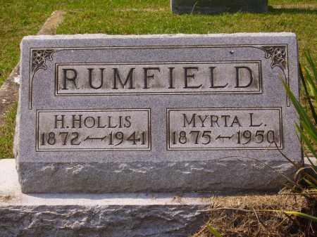 GRATE RUMFIELD, MYRTA L. - Meigs County, Ohio | MYRTA L. GRATE RUMFIELD - Ohio Gravestone Photos