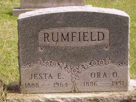 RUMFIELD, JESTA E. - Meigs County, Ohio   JESTA E. RUMFIELD - Ohio Gravestone Photos