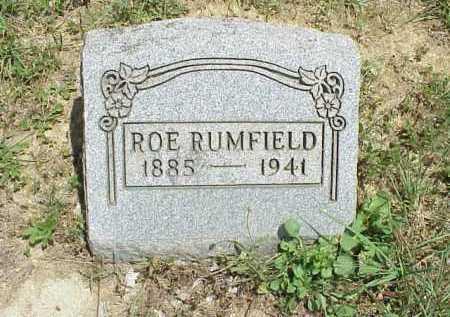"RUMFIELD, JETHROE ""ROE"" - Meigs County, Ohio | JETHROE ""ROE"" RUMFIELD - Ohio Gravestone Photos"