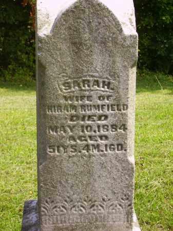 GOMER RUMFIELD, SARAH CLOSE VIEW - Meigs County, Ohio | SARAH CLOSE VIEW GOMER RUMFIELD - Ohio Gravestone Photos