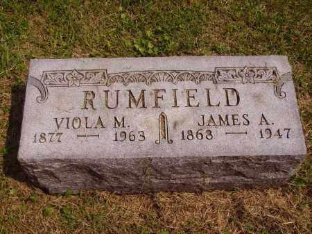 GRATE RUMFIELD, VIOLA M. - Meigs County, Ohio | VIOLA M. GRATE RUMFIELD - Ohio Gravestone Photos