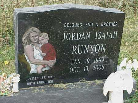 RUNYON, JORDAN ISAIAH - Meigs County, Ohio   JORDAN ISAIAH RUNYON - Ohio Gravestone Photos