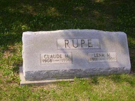 LEMLEY RUPE, LENA M. - Meigs County, Ohio | LENA M. LEMLEY RUPE - Ohio Gravestone Photos
