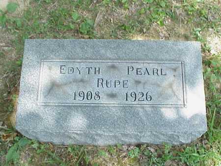 RUPE, EDYTH PEARL - Meigs County, Ohio | EDYTH PEARL RUPE - Ohio Gravestone Photos